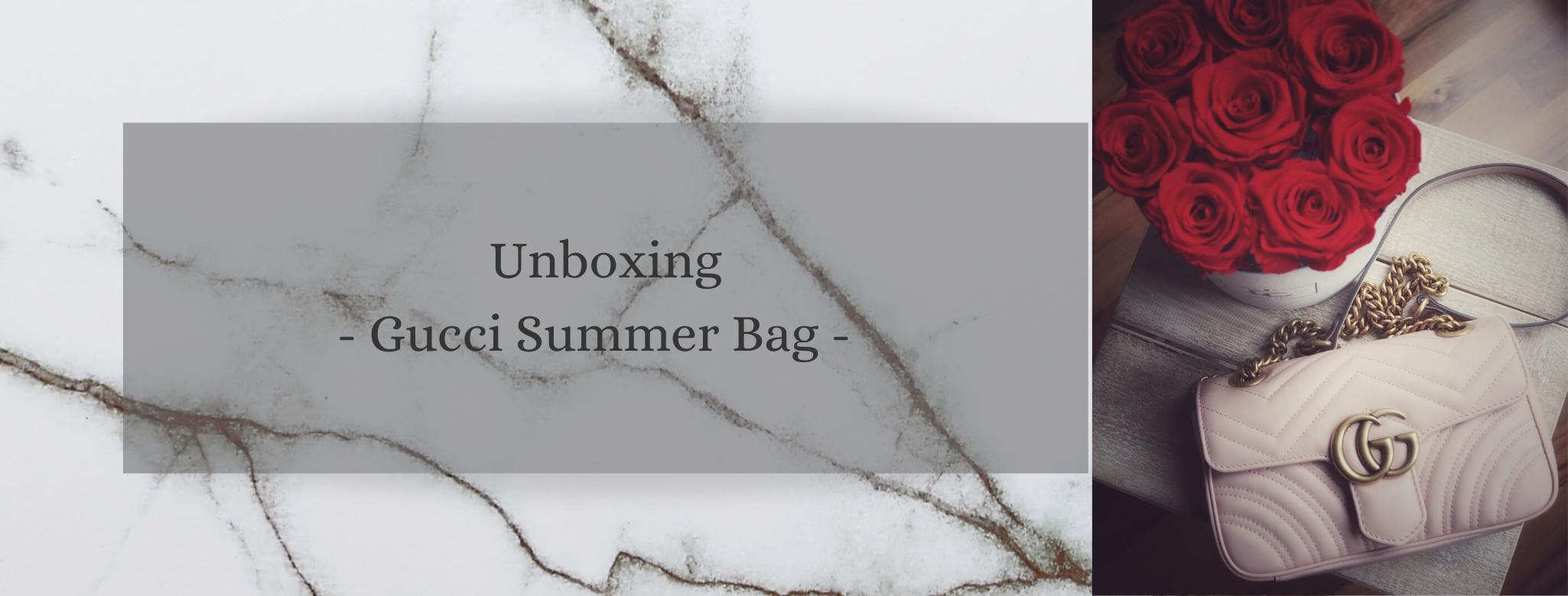 Unboxing – Gucci Summer Bag