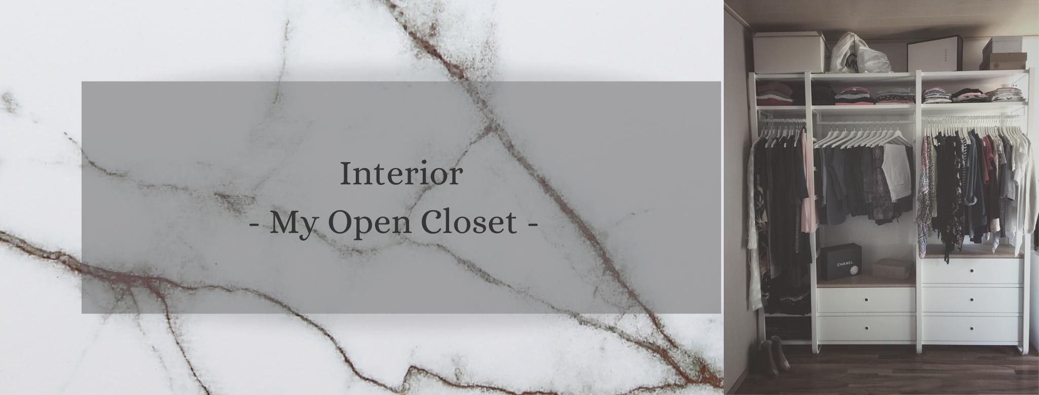 Interior: Open Closet