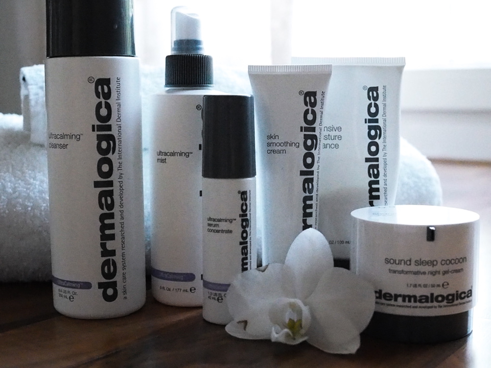 Skin care routine from Dermalogica