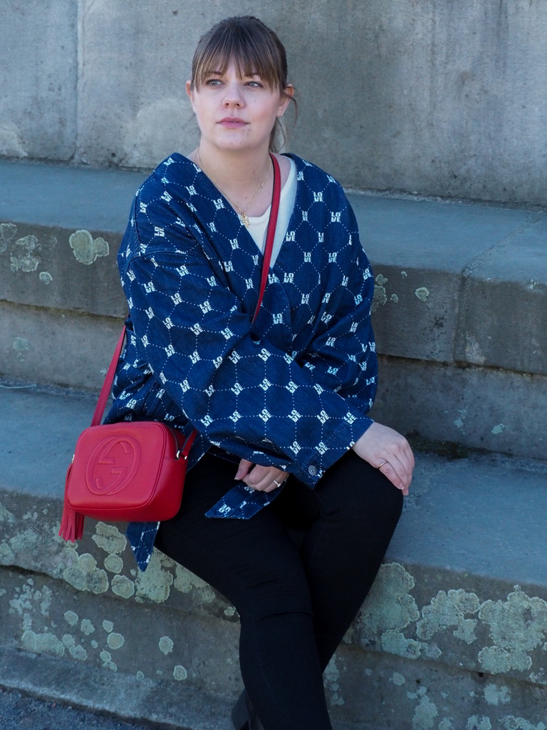 kimono - h&m - outfit - gucci - layering -sommerstyle