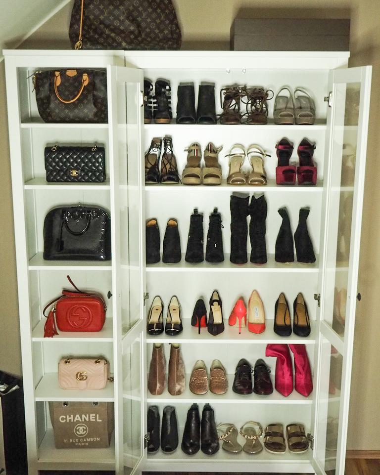 Shoe dream closet - Schuh Schrank - Ikea