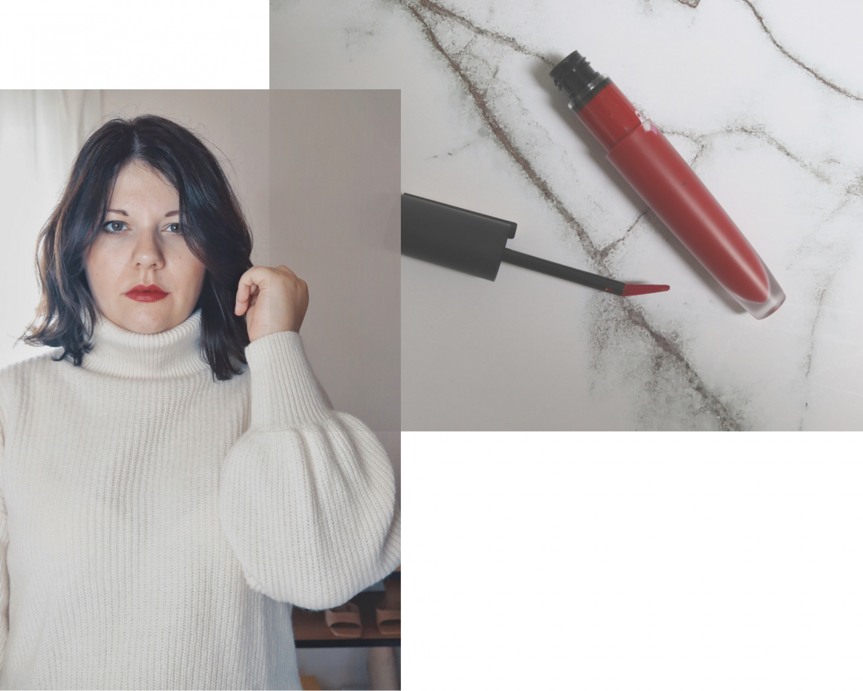 lipstick bright red